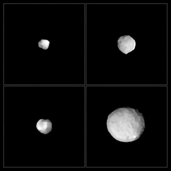 Астронавты NASA впервые исследуют 272-метровый астероид Паллада