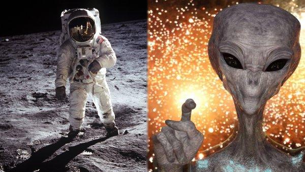 Они всегда были там: США активно готовятся к сотрудничеству с пришельцами на Луне