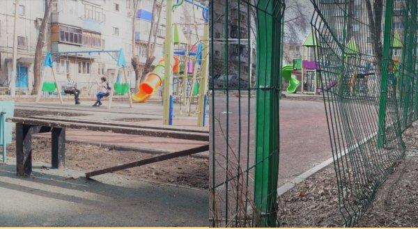 «Куда ушли наши деньги?»: в Орске разваливается детская площадка за 80 миллионов рублей