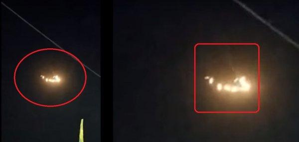 Отряд пришельцев наготове: Множество светящихся НЛО напугали жителей Индии