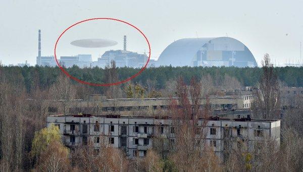Радиация распространяется через снег и лёд: Появившееся над Чернобылем НЛО предупредило о повторной катастрофе - уфологи
