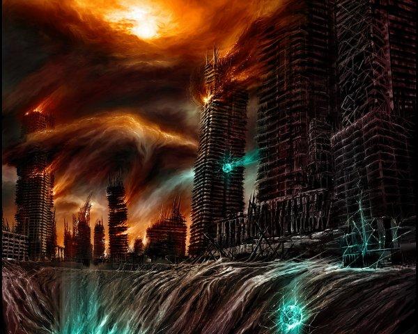 Предвестник конца света: Дракон-пришелец с Нибиру уничтожил собор Нотр-Дам в Париже