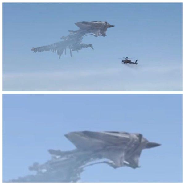 В Испании военный вертолёт обстрелял НЛО