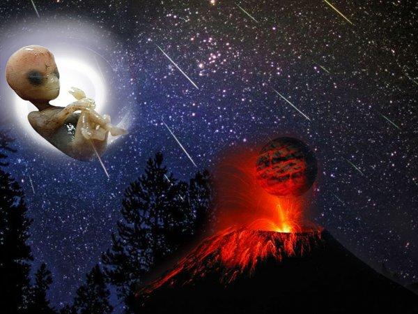 «Личинки» пришельцев с Нибиру высадились в горах – Метеоритный дождь в России оказался нашествием «яиц» инопланетян