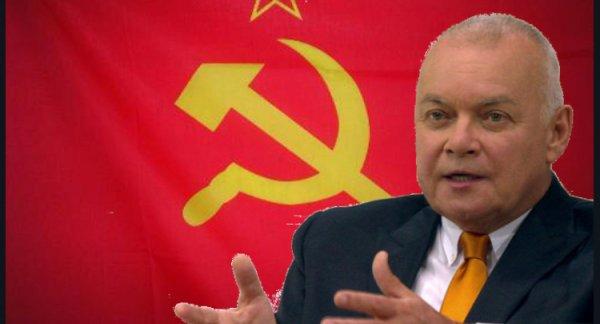 Телеведущий Дмитрий Киселев назвал граждан СССР иждивенцами