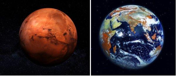 «Засушили» и уничтожили: Колонизаторами Марса могли стать аннунаки с Нибиру