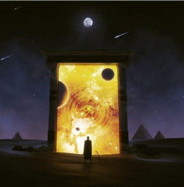 Тёмная материя станет спасением людей с Земли через порталы