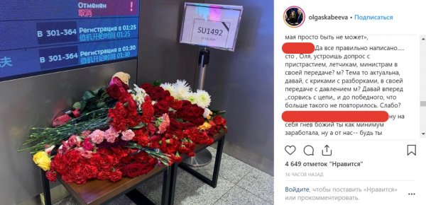«Всё равно правду не расскажут»: Скабеевой «слабо» рассказать про пожар в Шереметьево - фанаты