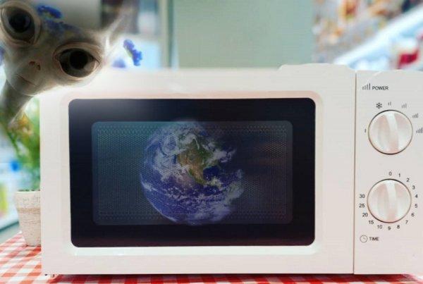 Земля в «микроволновке»: Пришельцы начали разогревать земную кору ради нового Всемирного потопа