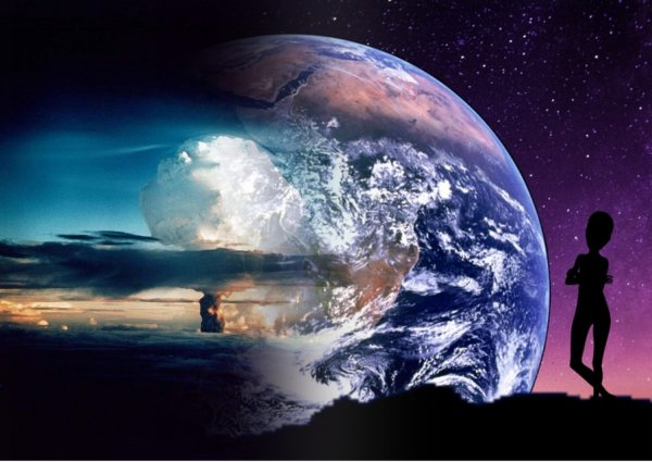 Бомба антиматерии: Пришельцы могут уничтожить всю жизнь на Земле