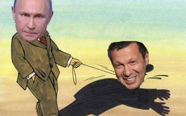 Сорвался с поводка? Соловьев спровоцировал насмешки над Путиным, сам этого не подозревая