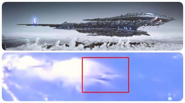 Стремительно окружают планету: полёт инопланетных кораблей случайно попал на видео