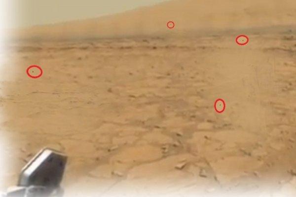Нибиру вышла из засады: На марсоход Curiosity напали дроны