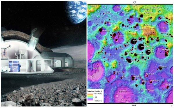 Луну скоро колонизируют? Астрономы составили подробную карту спутника Земли