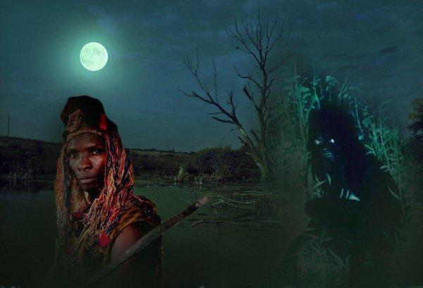 «Уродливые» женщины-мутанты живут в болотах: В Африке родился гибрид ведьмы и пришельца