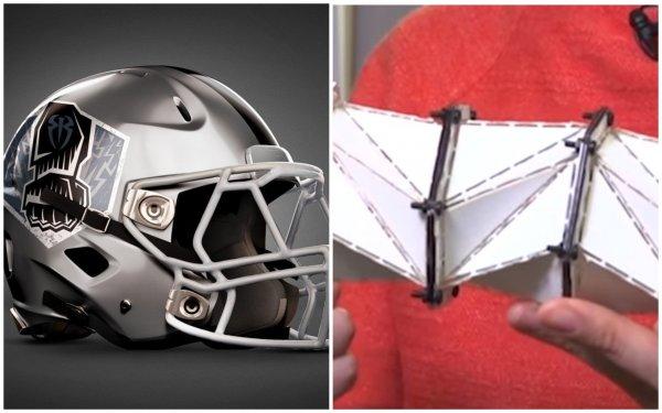 «Шлем-оригами» защитит от травм? Создан новый материал, смягчающий силу удара