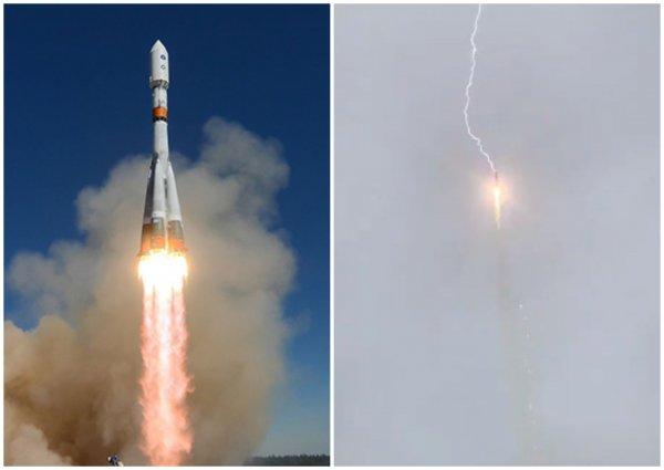 Пришельцы атаковали «Союз-2.1б»: Попавшая в ракету молния могла быть высокотехнологическим оружием