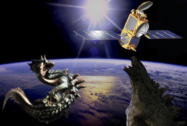 Годзилла отдыхает! Спутники Google засняли исполинских чудовищ в недрах Мирового океана