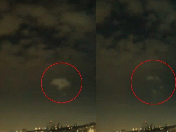 Растворяются в небе: Корабли пришельцев способны превращаться в дым