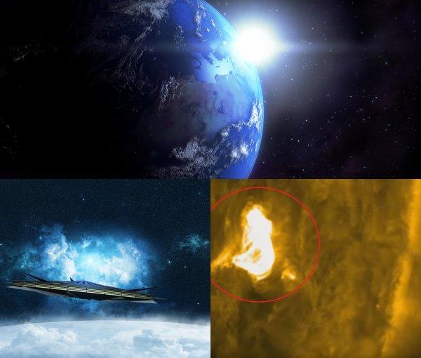 Инопланетяне «воруют» энергию Земли и Солнца ради заправки своих космолётов