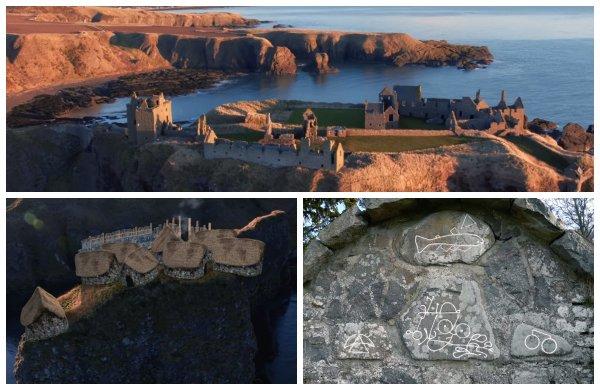 Археологи воссоздали древнейший форт Шотландии