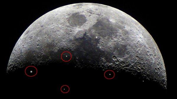 Вспышки сварки на Луне: Астрономы зафиксировали «стройку века» пришельцев с Нибиру