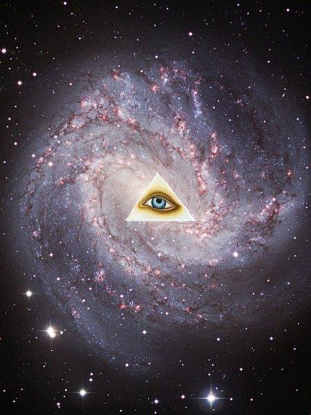 Глаз Бога. Астрономы засняли реальное изображение ока Всевышнего