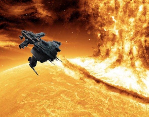 В 5 раз больше Земли. НЛО вышел из Солнца