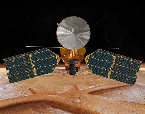 Впервые за 13 лет на Марсе прогремел взрыв