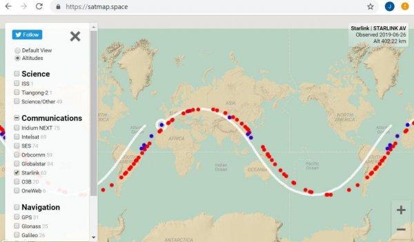 Пришелец, не воруй: Аннунаки похитили один из спутников Starlink Илона Маска