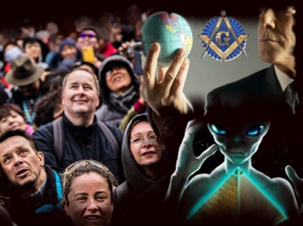 Спецслужбы России или Комитет 300: Американцы бьют рекорд, верой в пришельцев и НЛО
