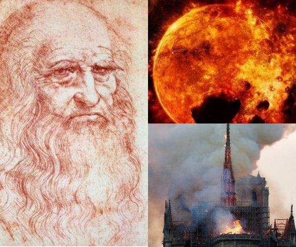 «Огненная Нибиру» летает над Калининградом - Нумерологи расшифровали код да Винчи и предсказали Апокалипсис на Страстную пятницу