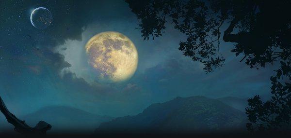 Нибиру сжимает Луну. Земля станет спутником Планеты Х
