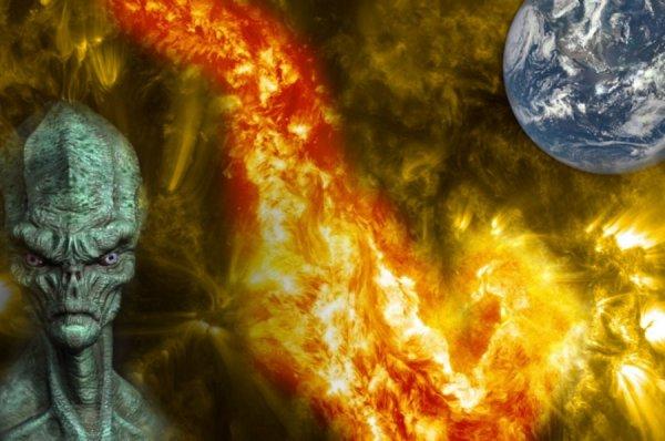 Пришельцы начали обстрел Солнца: Магнитные бури могут выжечь Землю
