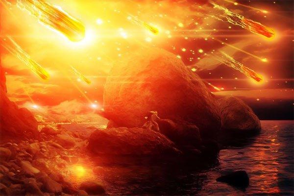 Землю «засыплет» астероидами после столкновения галактик