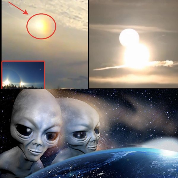 Пришельцы не уследили: На небе засветилось фейковое Солнце