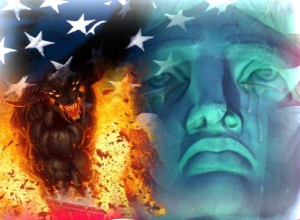 4 июля США «похоронят» – Военный парад на День Независимости вместо Трампа возглавят Демоны Солнца