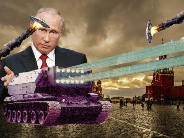 Супероружие СССР остановит нашествие НЛО - Путин готовит армию будущего для отпора пришельцам