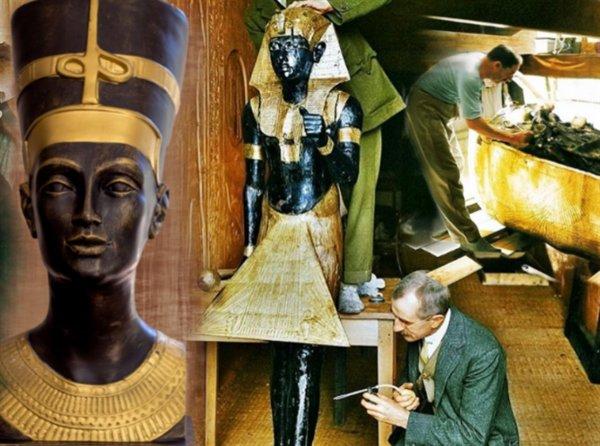 Загадка Нефертити раскрыта: Тайная гробница царицы Египта найдена на плато Гиза в Каире