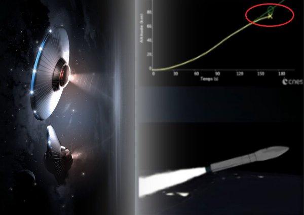 «Зеленые человечки» атаковали FalconEye1: Европейскую ракету сбили с курса два НЛО