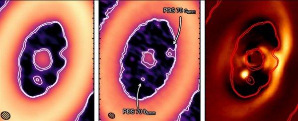 Астрономы зафиксировали процесс «зачатия» экзопланеты