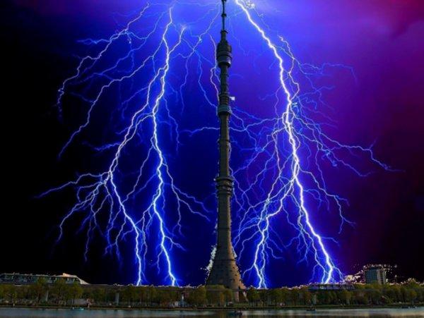 Грозу заказывали? НЛО ударил молнией и обесточил Останкинскую телебашню - эксперт
