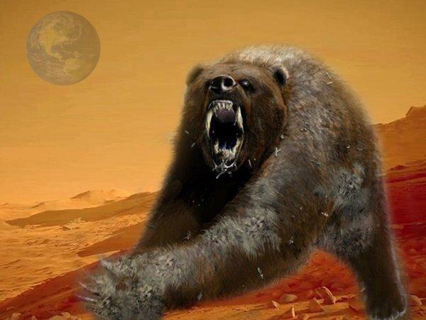 Медведи с Марса атаковали жителя Тывы – NASA засняло инопланетного оборотня