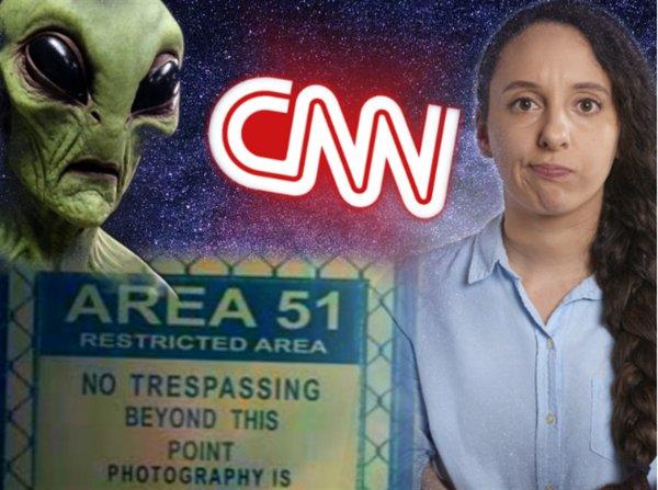 CNN хайпует: «Главный рупор» США подтвердил побег пришельцев из Зоны 51