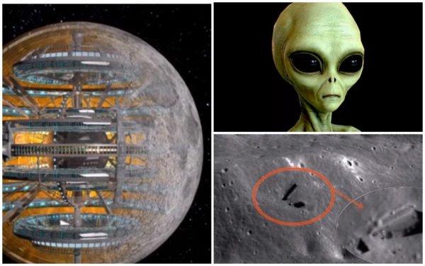 Луны не существует! Спутник Земли - голограмма пришельцев скрывающая их базу