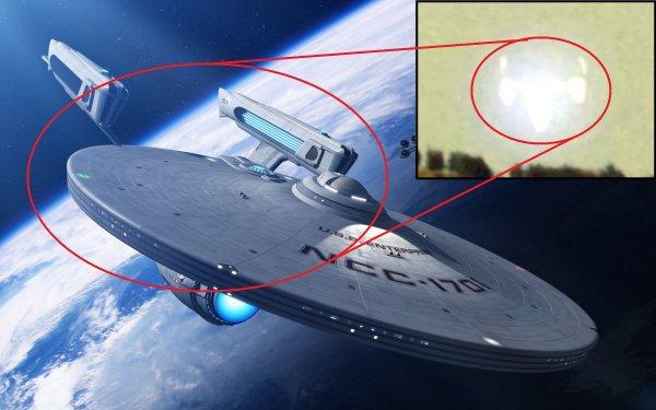Пришельцы из Стартрека: Инопланетяне спустились на Землю в спасательных капсулах
