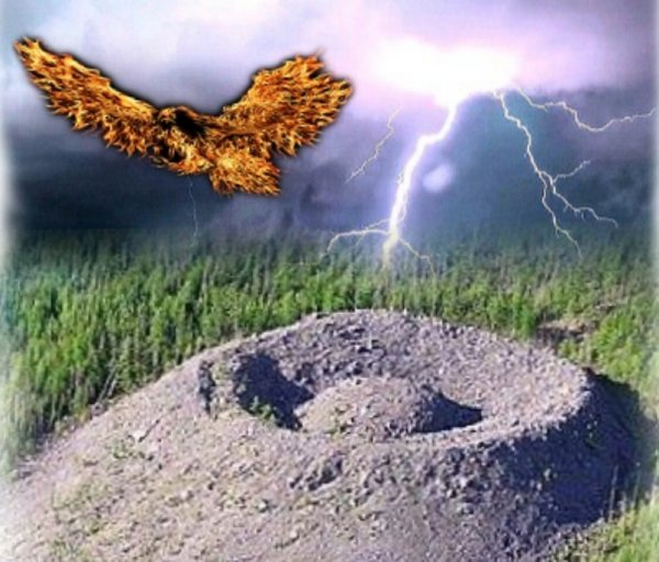 Сибирь в обмен на Нибиру? Над Икрустком засняли возвращение Огненного орла