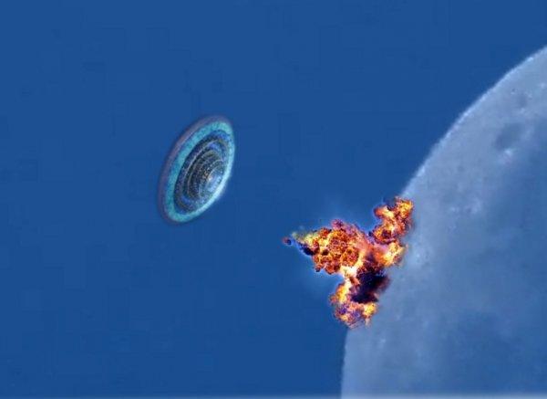 Нибиру взорвала Луну - До Армагеддона осталось меньше 8 часов