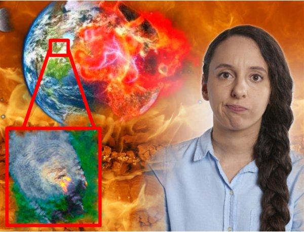 Пожар кровоточит: 12 августа Красноярский край исчезнет с Земли из-за гравитационного коллапса