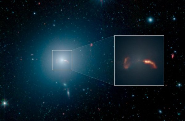 Земля на закуску: Галактический червь-пожиратель «вылупился» из черной дыры